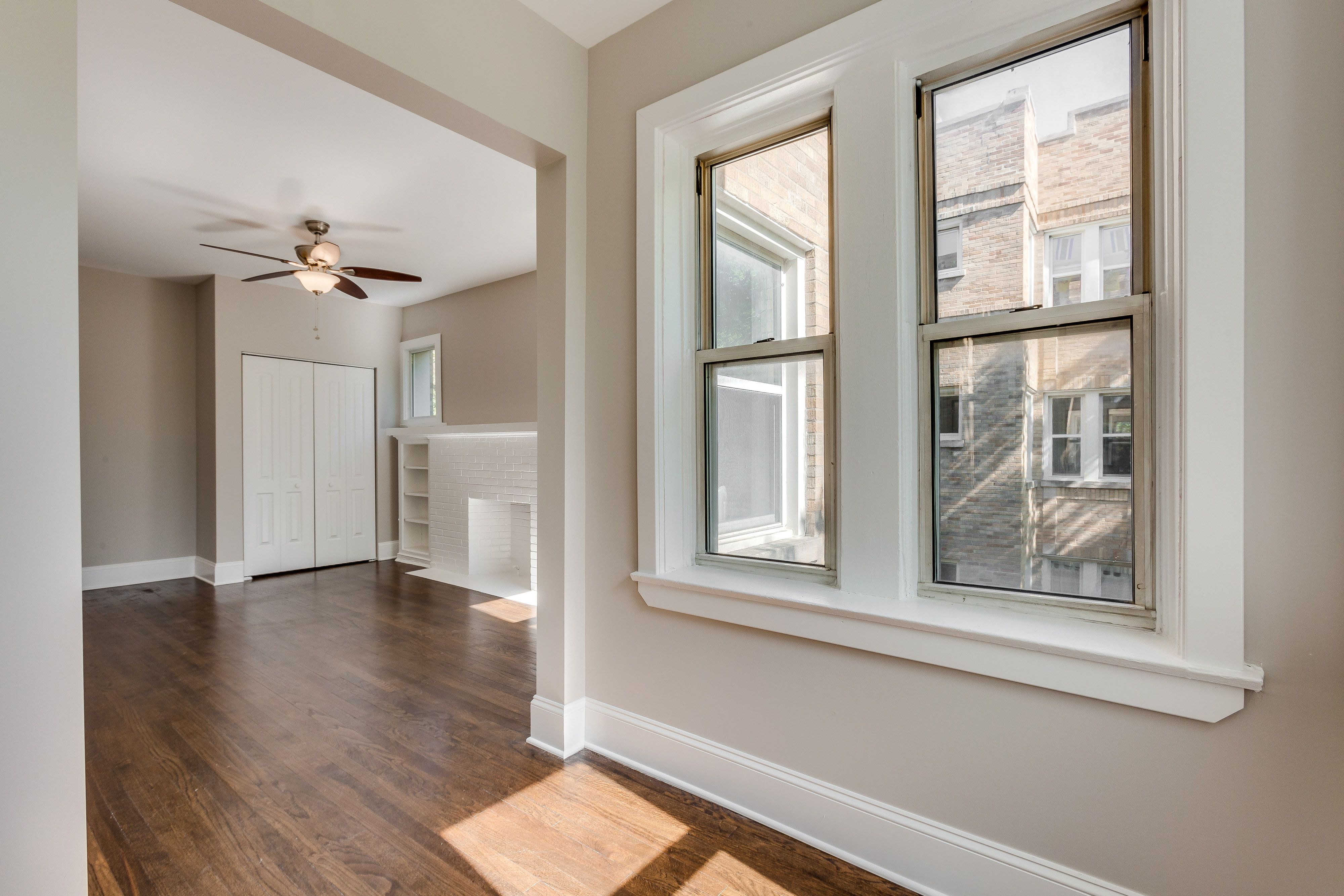 This Updated Apartment Has Two Sunrooms A Separate Dining Room