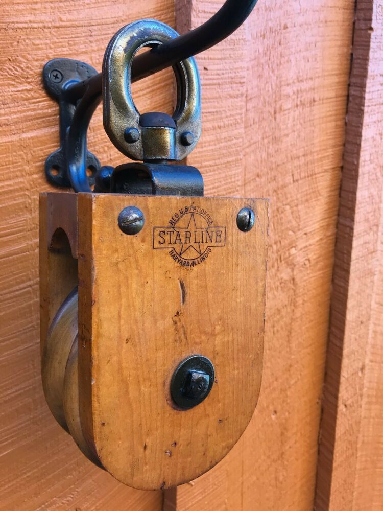 Ebay Sponsored Antique Vintage Starline Wood Barn Pulley Primitive Farm Tool Barn Wood Bottle Opener Wall Farm Tools