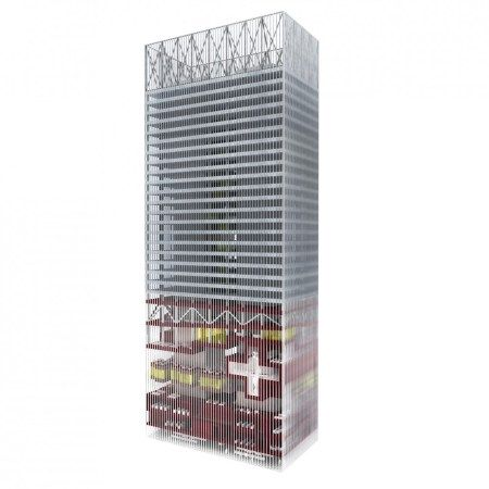 CLC U0026 MSFL TOWERS Designed By REX Architects And Joshua Prince Ramus
