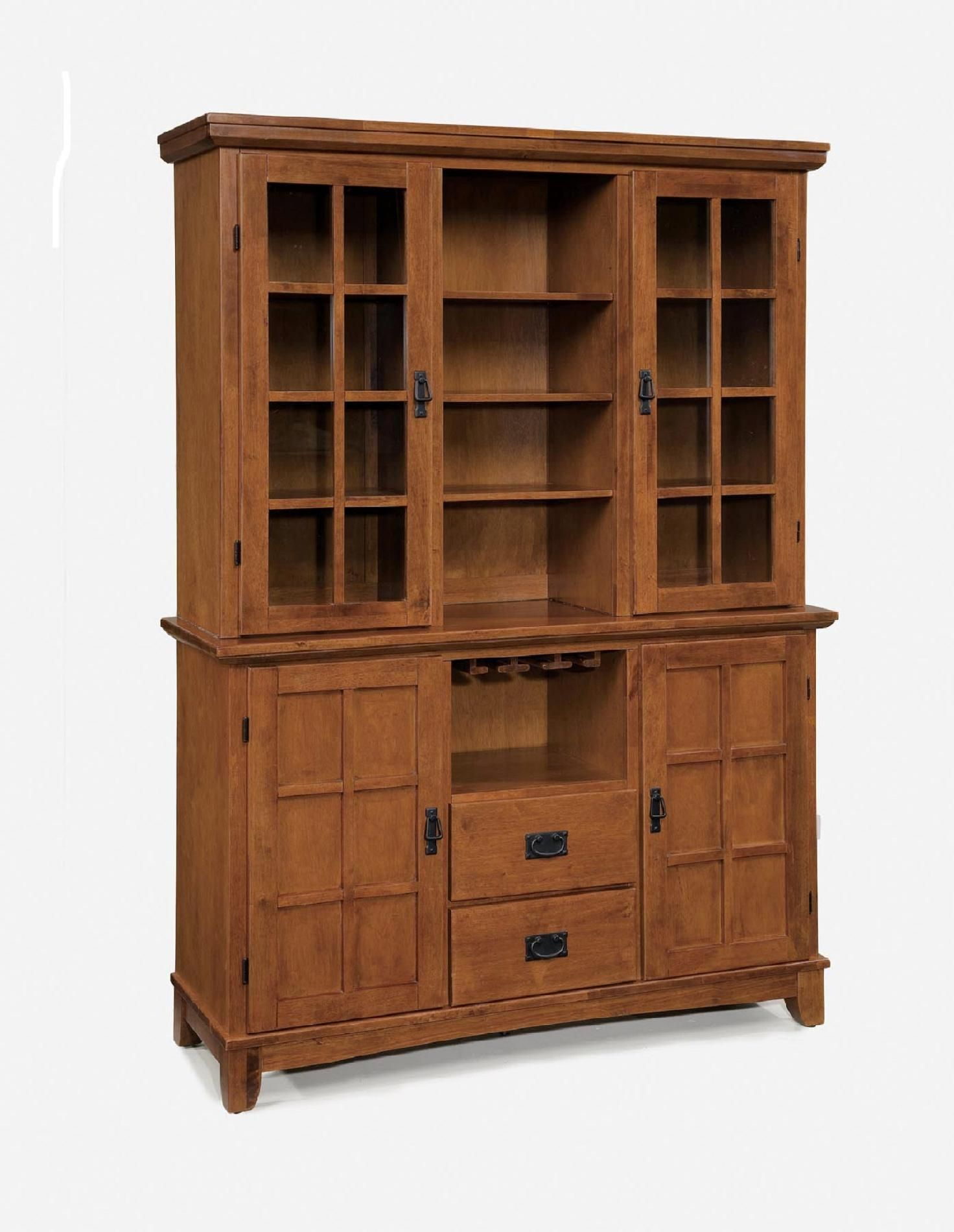 Home Styles Arts Crafts Dining Buffet Hutch Cottage Oak