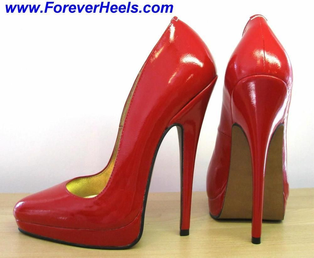 37dc74fb914 Peter Chu Shoes 6 Inch Heels Forever (ForeverHeels.com) - PVP16  Handmade  Leather High Heels