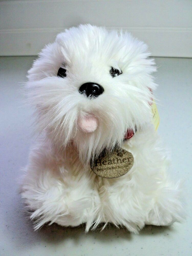 Keel Toys Simply Soft Collection Plush Stuffed Westie White Dog