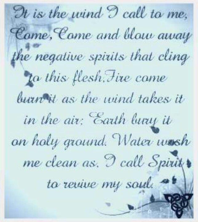 how to clean bad spiritual energies
