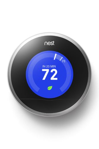 Nest Learning Thermostat If You Re Looking To Spruce Up Your Pad In A Modern Techie And Energy Efficien Cool New Gadgets New Gadgets Nest Learning Thermostat