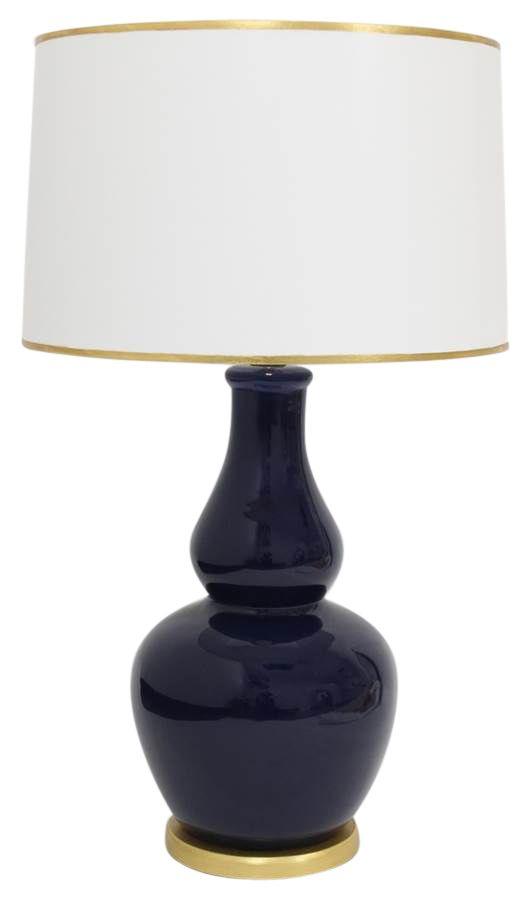 Buy navy pisa ceramic lamp from festoni on dering hall ceramic lampsceramic tablepisatable lampsrainbow
