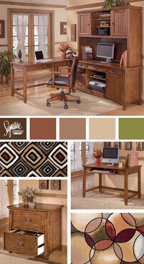 Cross Island Home Office - Ashley Furniture   Furniture ...