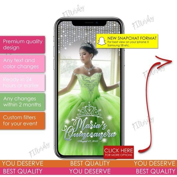 Quinceanera snapchat,snapchat filter quinceanera,quinceanera