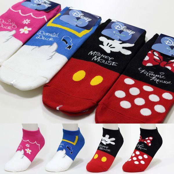 Womens Disney Mickey Mouse Minnie Pooh Stitch Novelty Cartoon Cute Socks