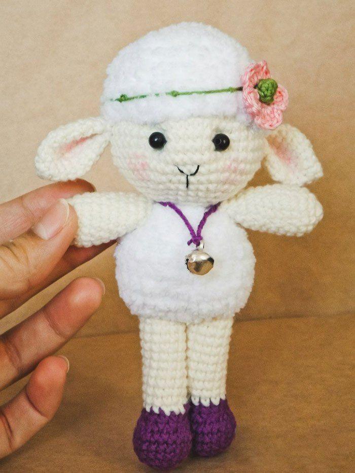 meryl sheep amigurumi pattern | artemisa | Pinterest | Oveja ...