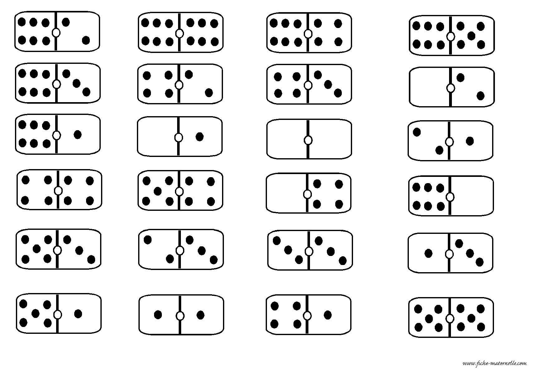 Des Dominos En Maternelle