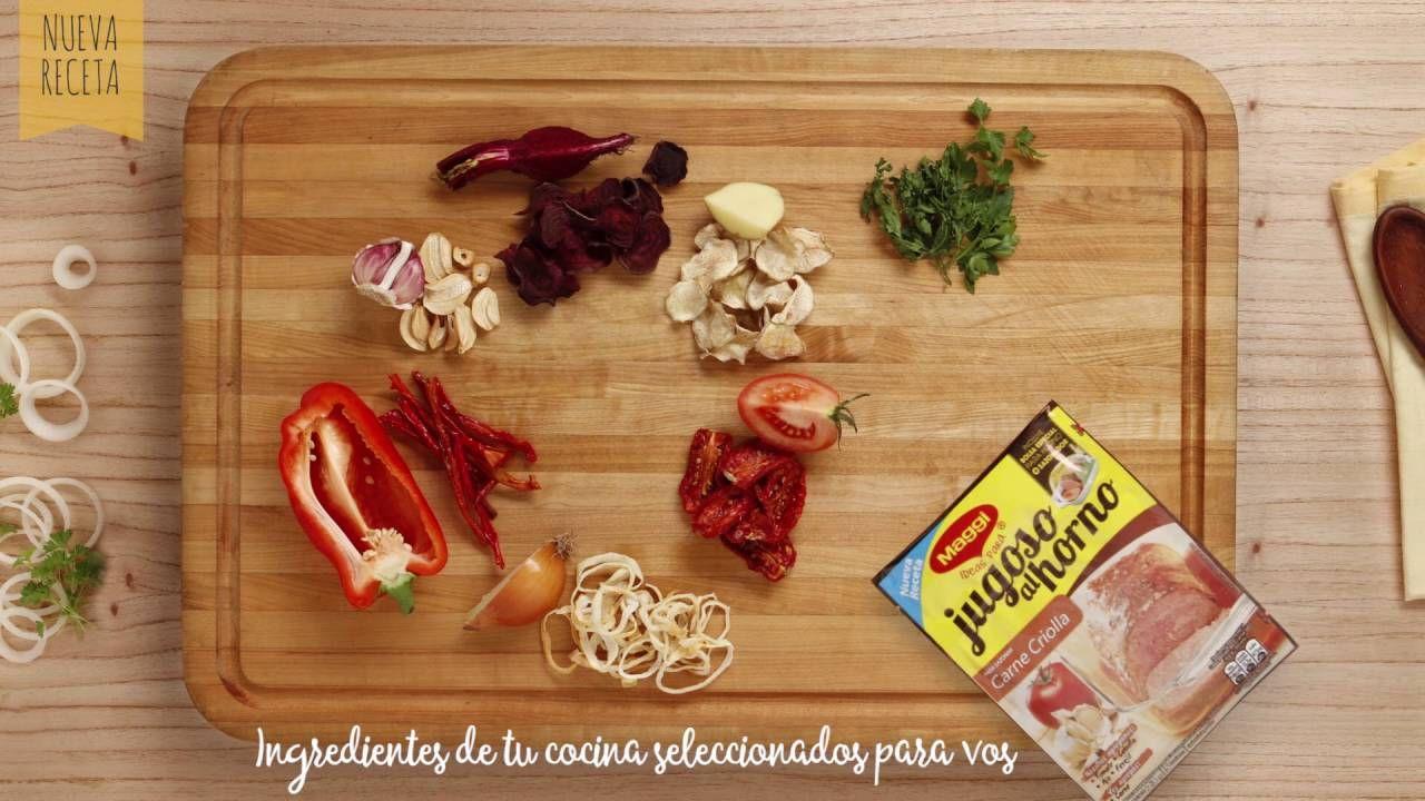 """Carne Criolla- Nueva variedad de """"Jugoso al horno"""" por MAGGI"""