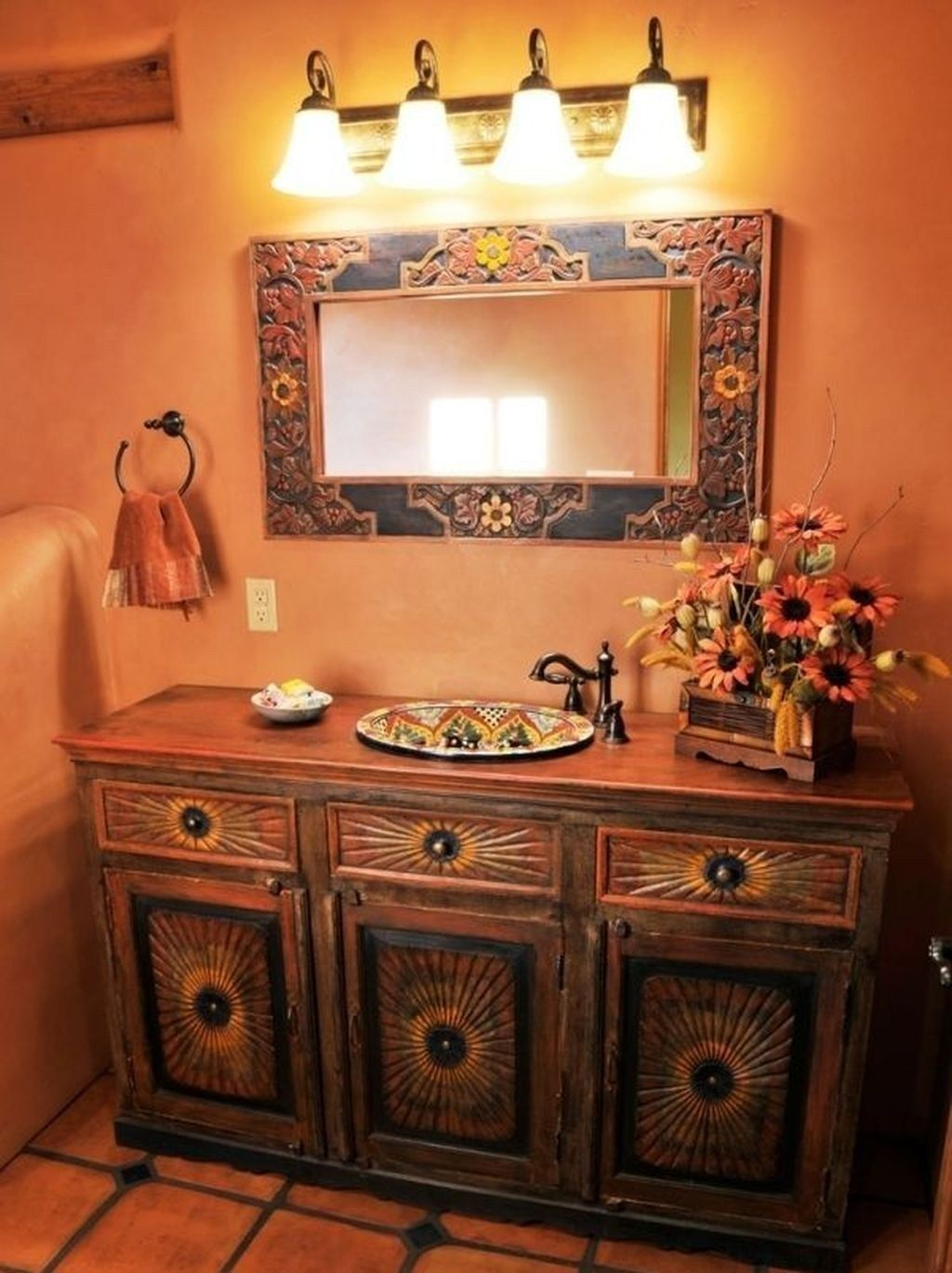 47 Best Rustic Style Decor To Update Your Home Mexican Home