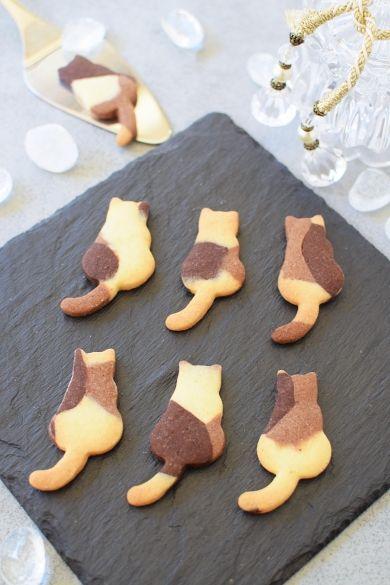 三毛猫ちゃんクッキー☆ #cookies