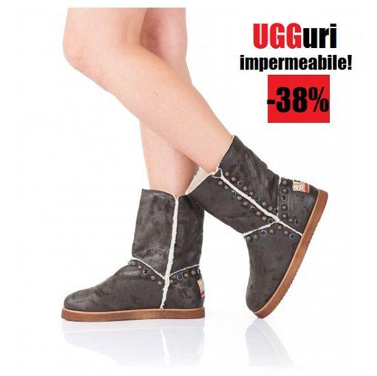 -38% reducere cel mai dorit model de cizme de dama tip UGG impermeabile si imblanite!