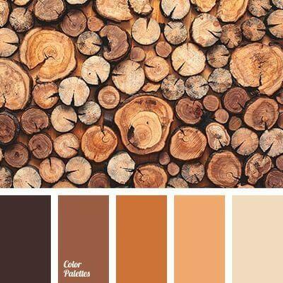 Ten Fall Color Combinations - County Road 407 #fallcolors