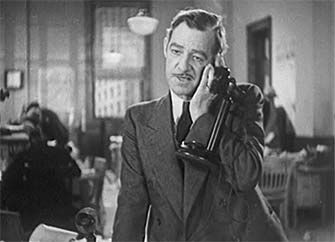 0 Al Bridge on the phone in Murder on the Campus (December 27, 1933)