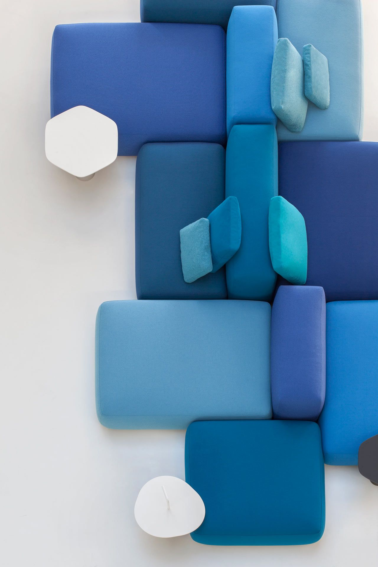 PLUS Modular Seating System By Francesco Rota For Lapalma   Design Milk  Modular Furniture, Home