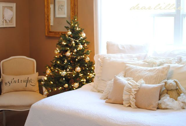 Christmas In The Baby S Room Small Christmas Trees Little Girl Rooms Dear Lillie Lillie and lola christmas rooms