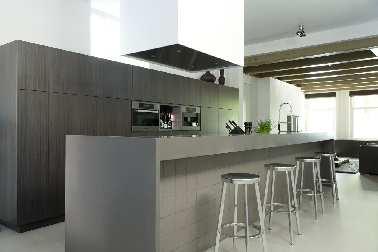 Kitchen canal house utrecht design remy meijers bachelorette pad