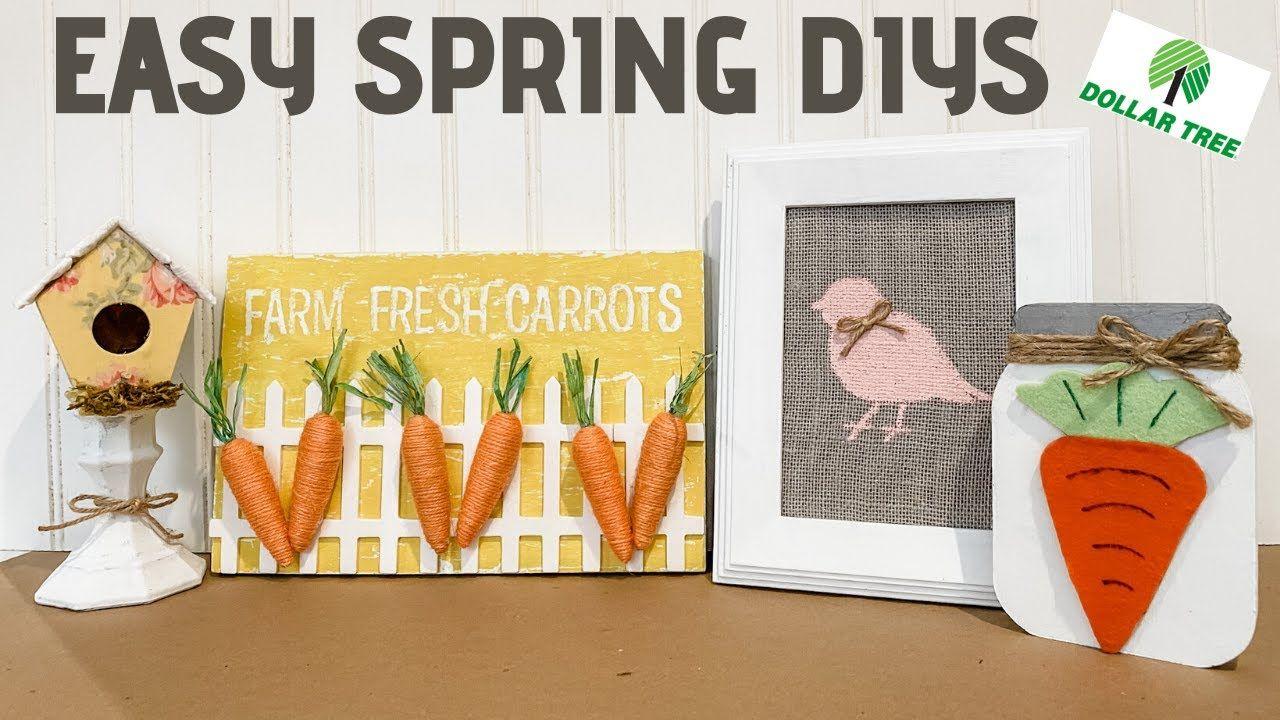 *NEW* DIY DOLLAR TREE HOME DECOR Spring Farmhouse DIYS