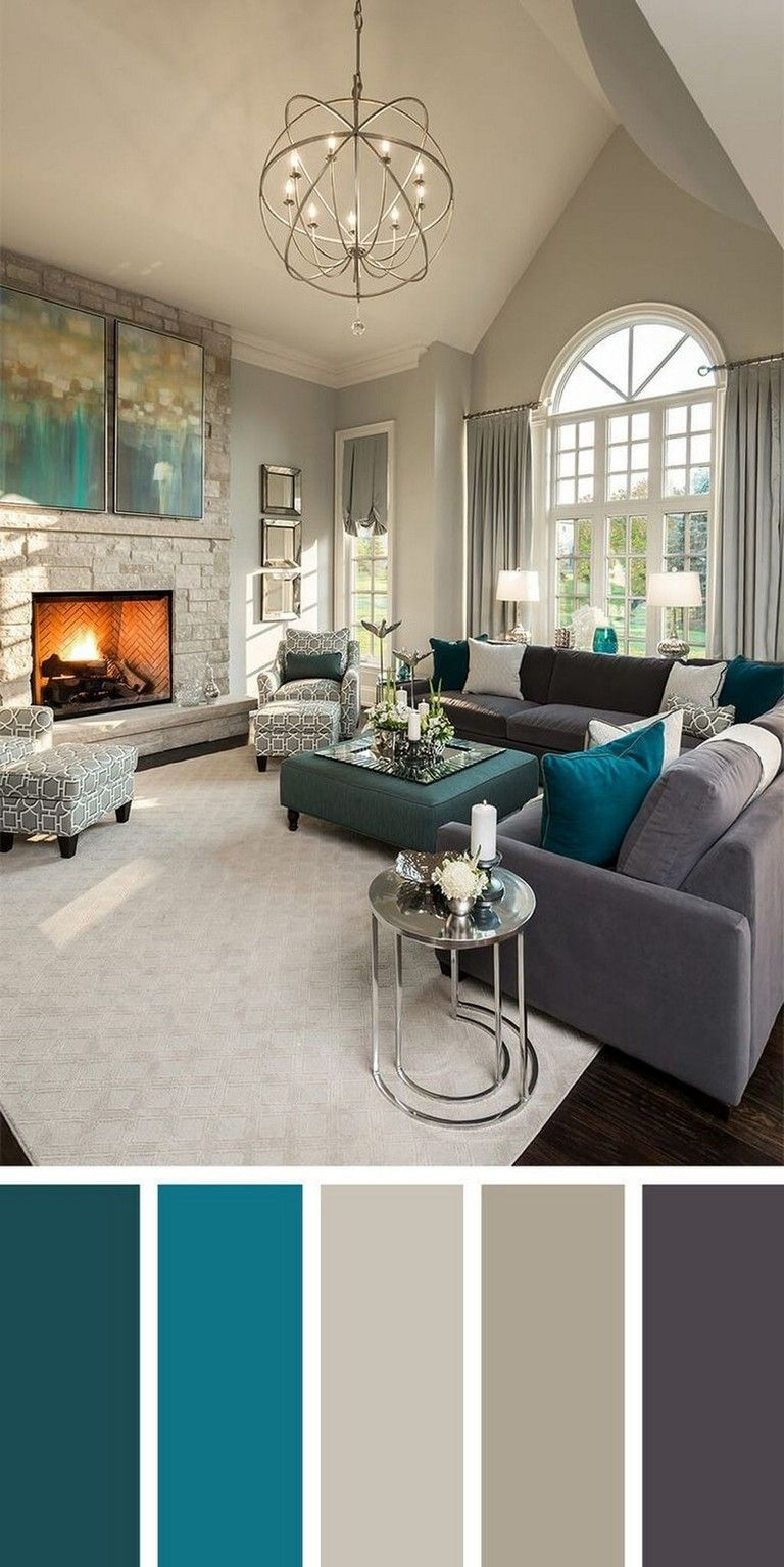 40 cool wall color inspirations for every room in the on living room color inspiration id=22938