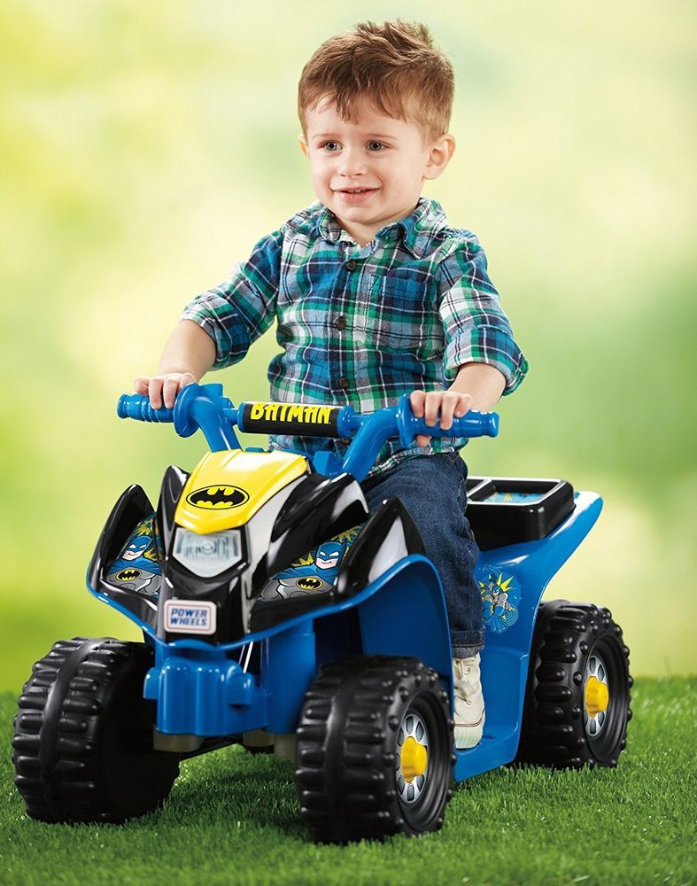 Riding Toys For Kids Toddler ATV 4 Wheeler Battery Operated