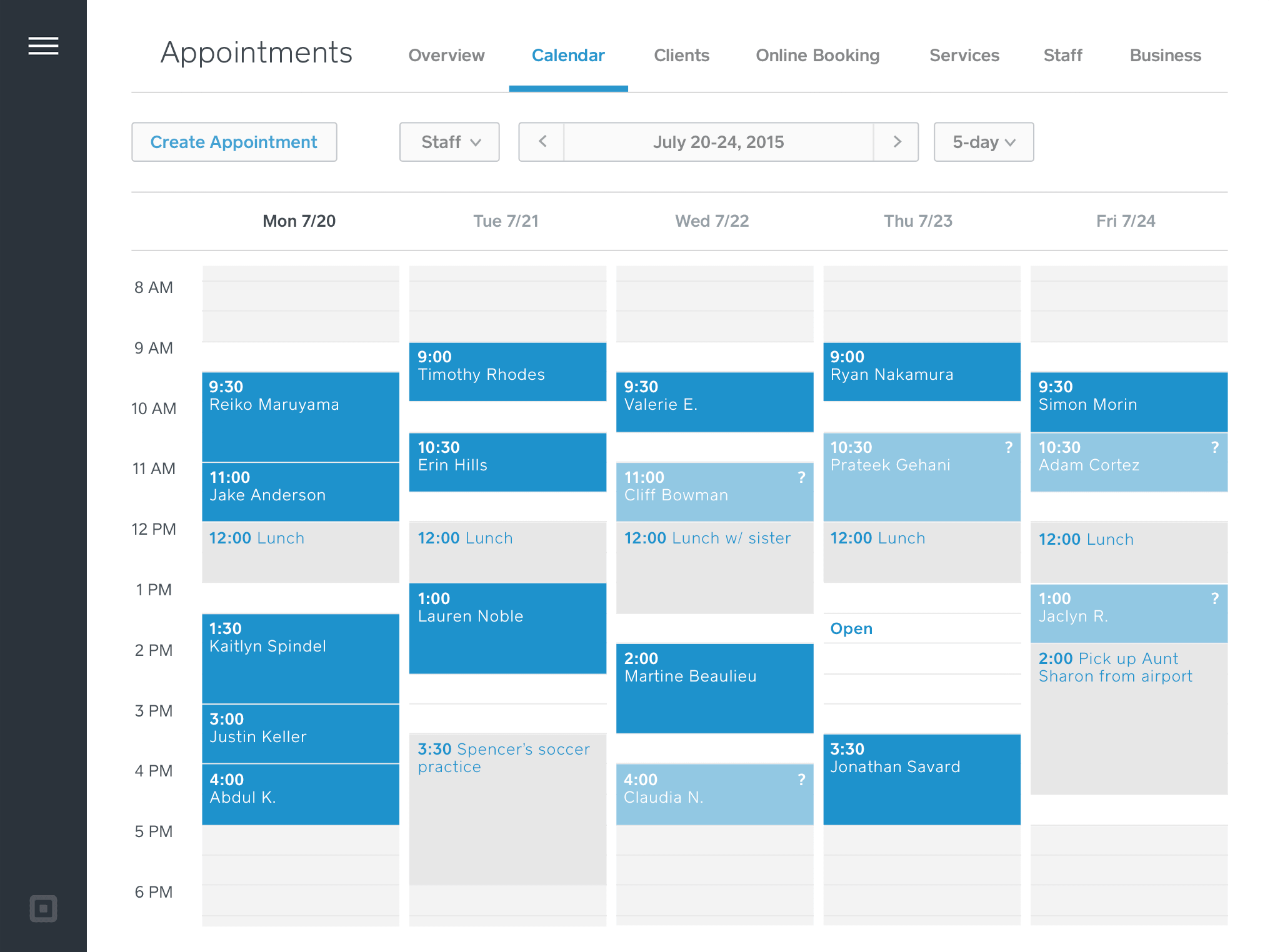 appointment scheduling software | square appointments | girl friday