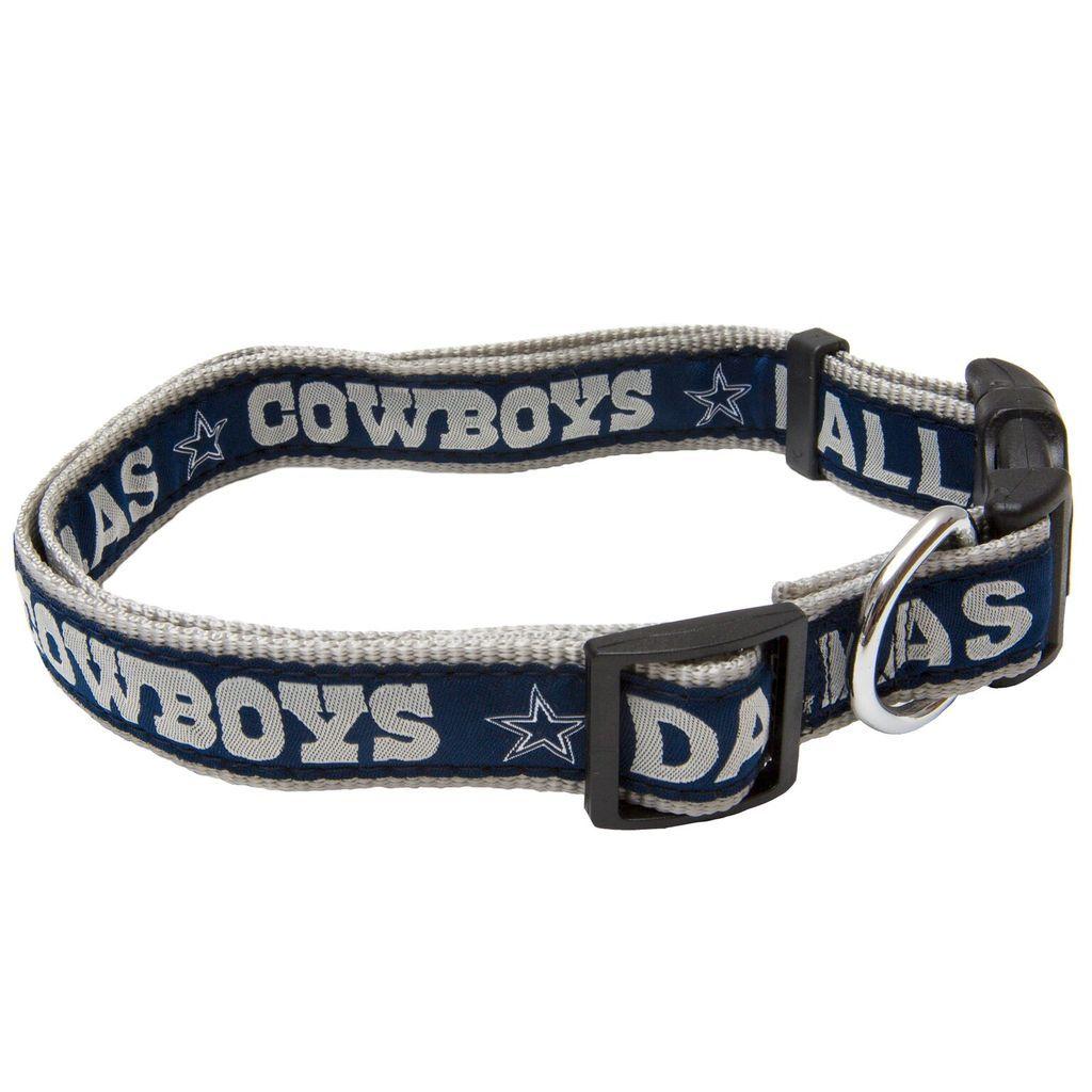 Dallas Cowboys Cat Dog Collar Ribbon Dallas Cowboys Dog Dog Collar Nfl Dog