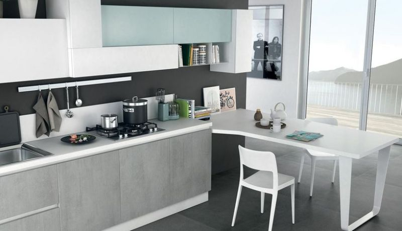 IMMAGINA - Cucina Lube Moderna nel 2019 | Cucine | Home kitchens ...