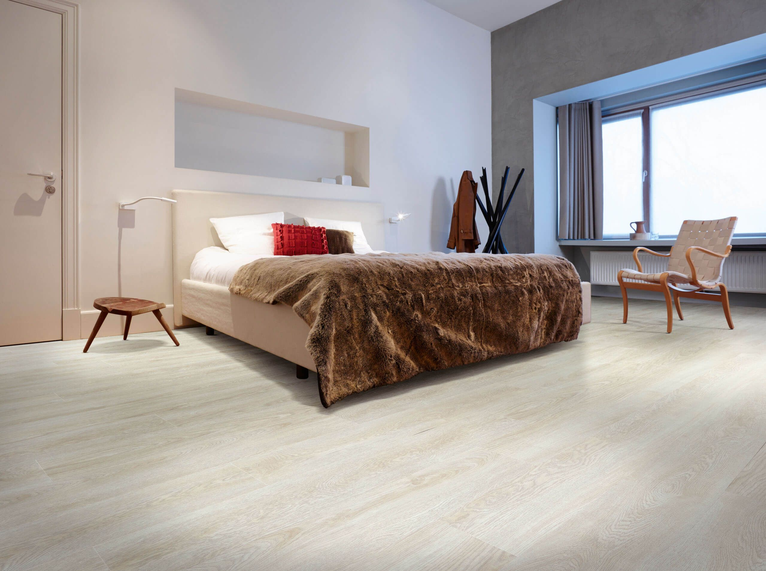 midland oak wood effect luxury vinyl flooring moduleo