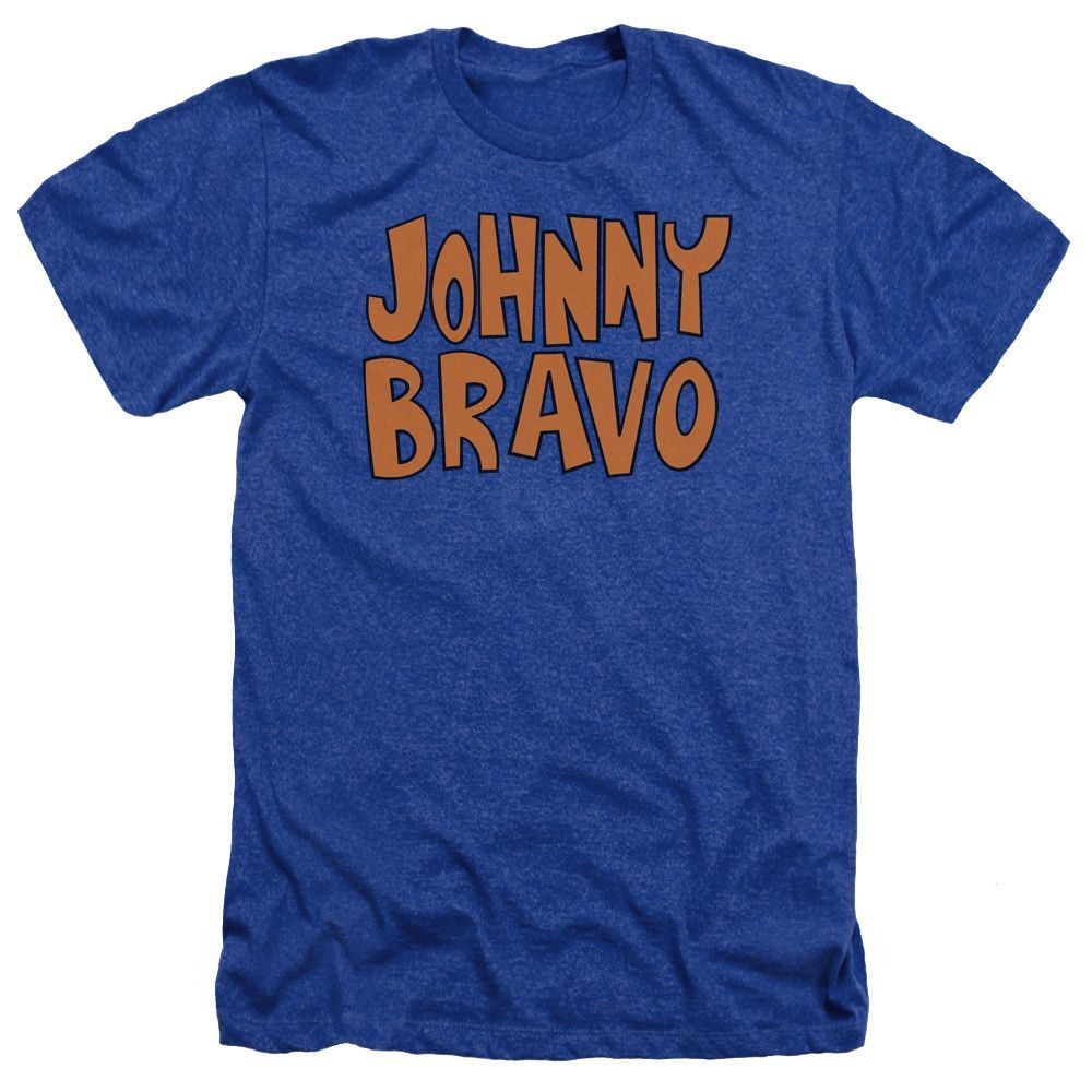 Jb Lighting T-shirt Johnny Bravo Jb Logo Heather T Shirt Products Shirts T Shirt