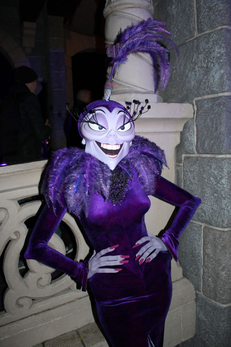 Disneyland Paris Halloween Party 2013 - Yzma