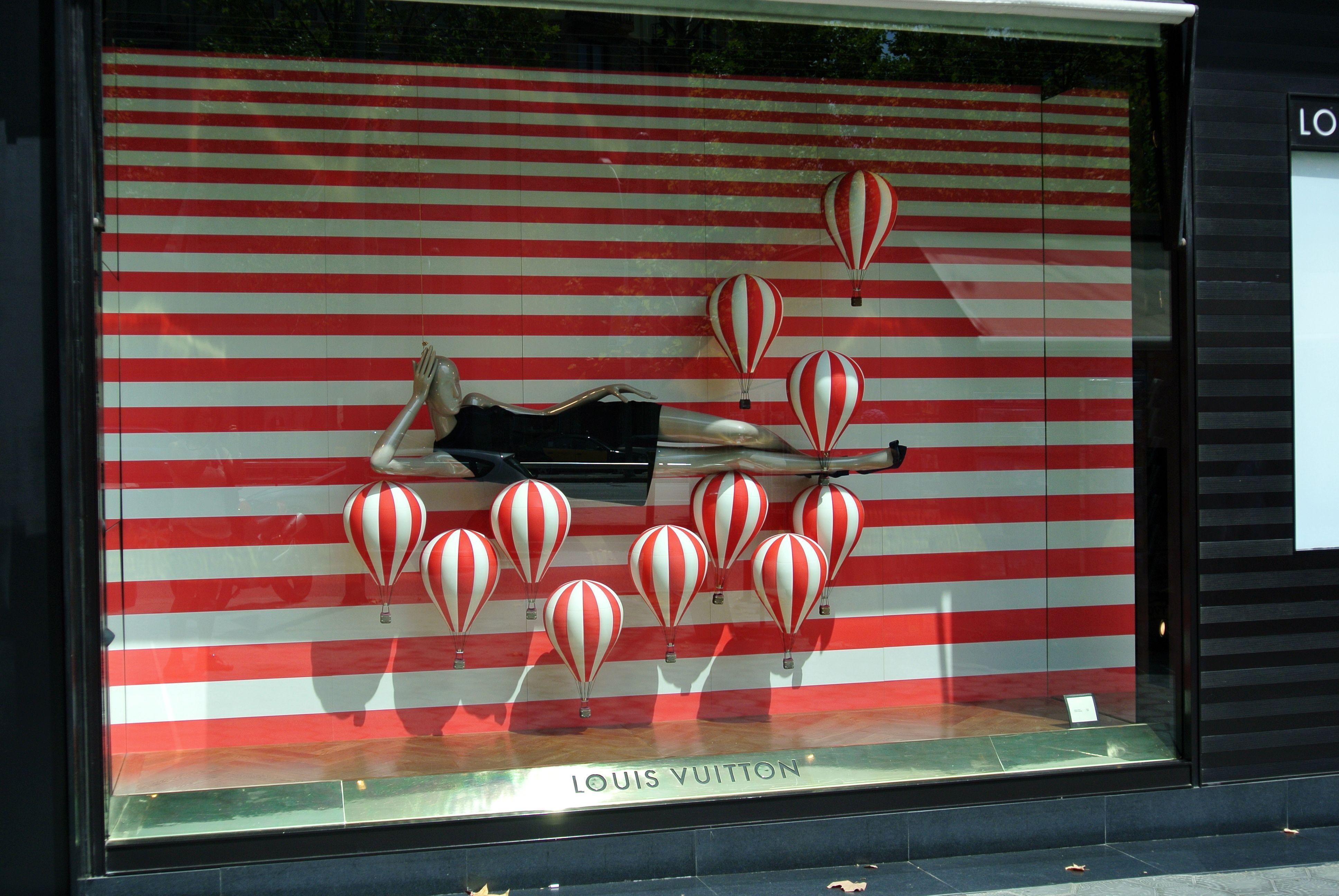 Barcelona Etalage Louis Vuitton Etalage Zomer Etalage Etalages