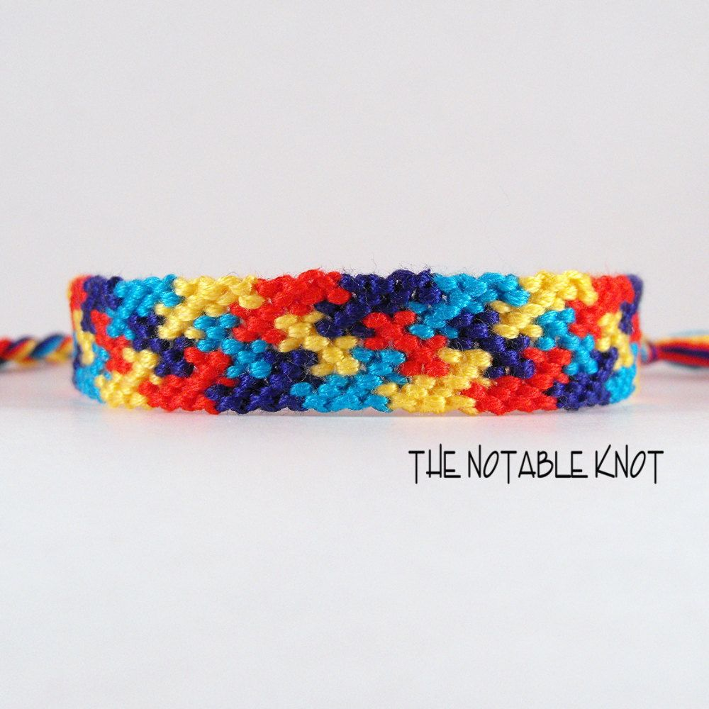 puzzle image the products autism piece coloured bracelet winner wristband alert awareness