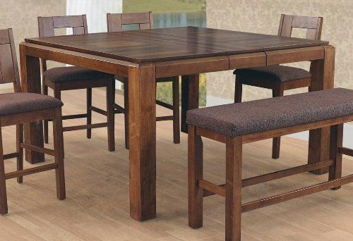 Altamonte Counter Height Dining Table In Walnut By Lifestyle California 480 20 Made Malaysia