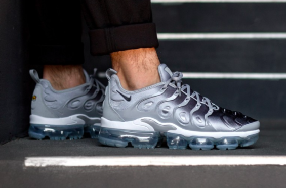 Nike Air VaporMax Plus Wolf Grey Arriving Next Week The Nike Air VaporMax  Plus is releasing 6967c0c34