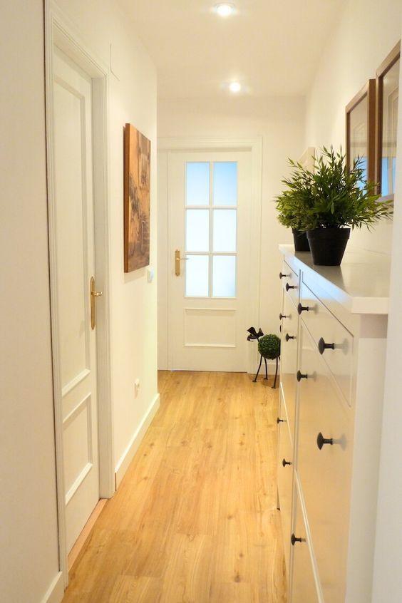 Pintar las puertas de tu hogar con chalk paint pintura - Pintar paredes blancas ...