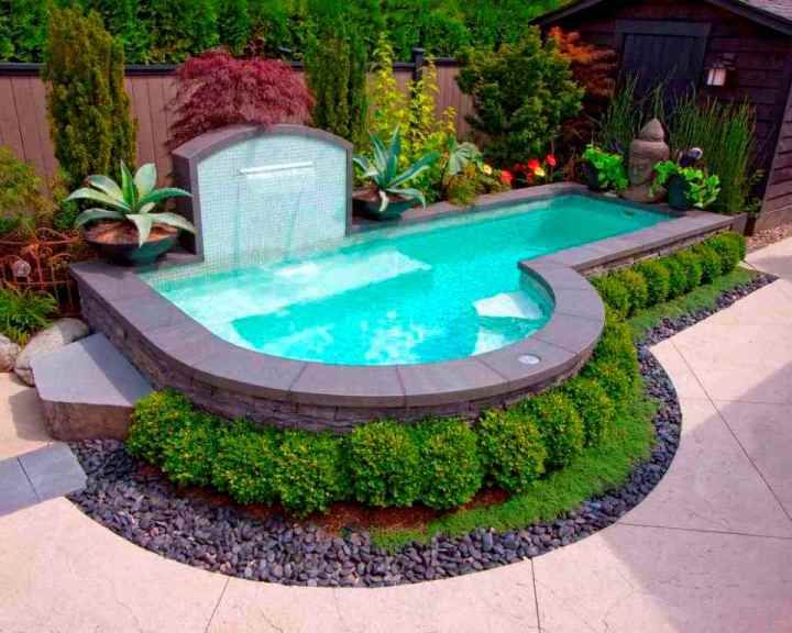 Above Ground Pool Landscaping Ideas Above Ground Pool Landscaping Small Pool Design Small Backyard Pools