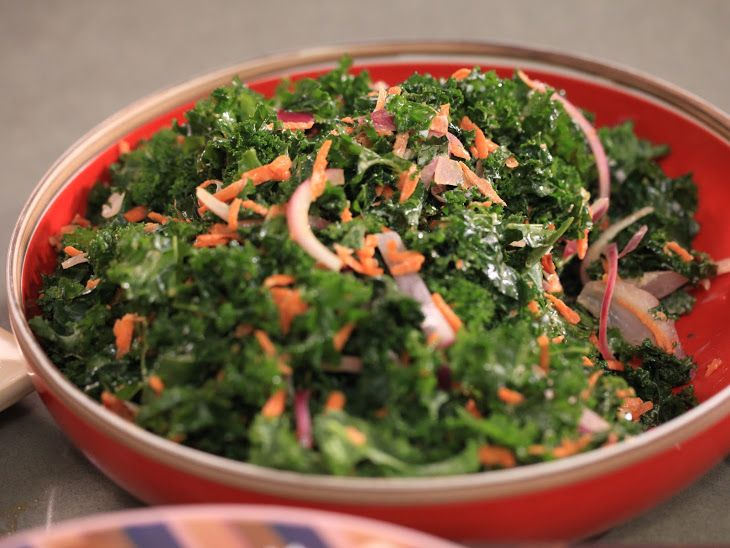 Kale Slaw that sounds pretty tasty!
