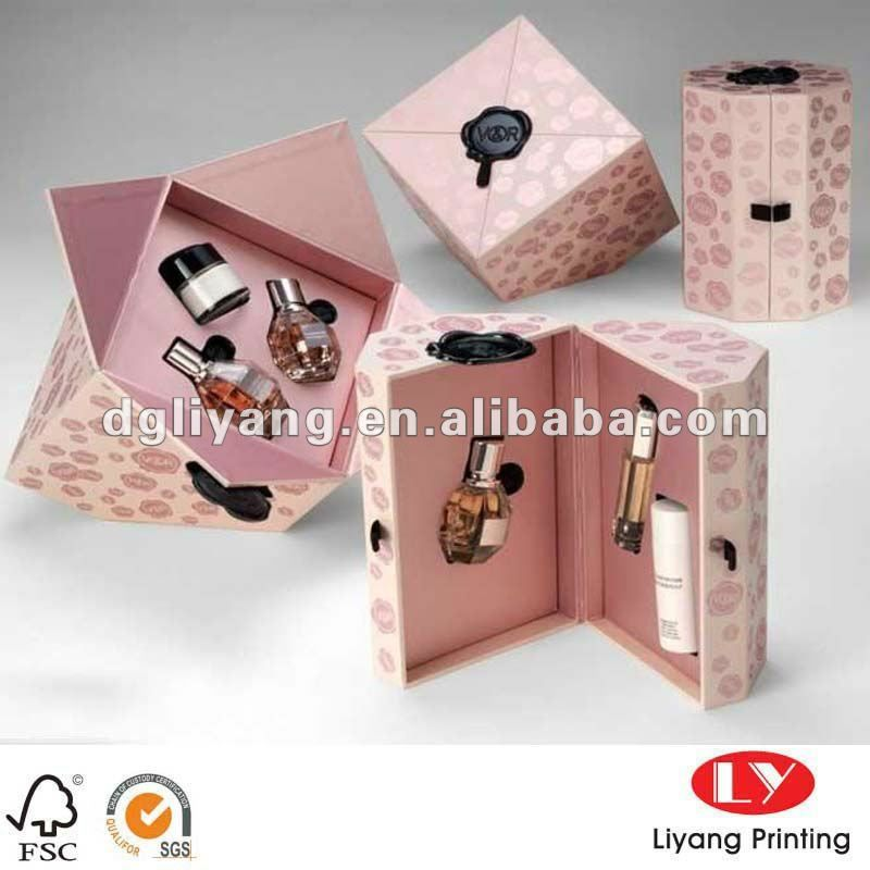 Unique Perfume Packaging Box For Brand Design Photo, Detailed ...