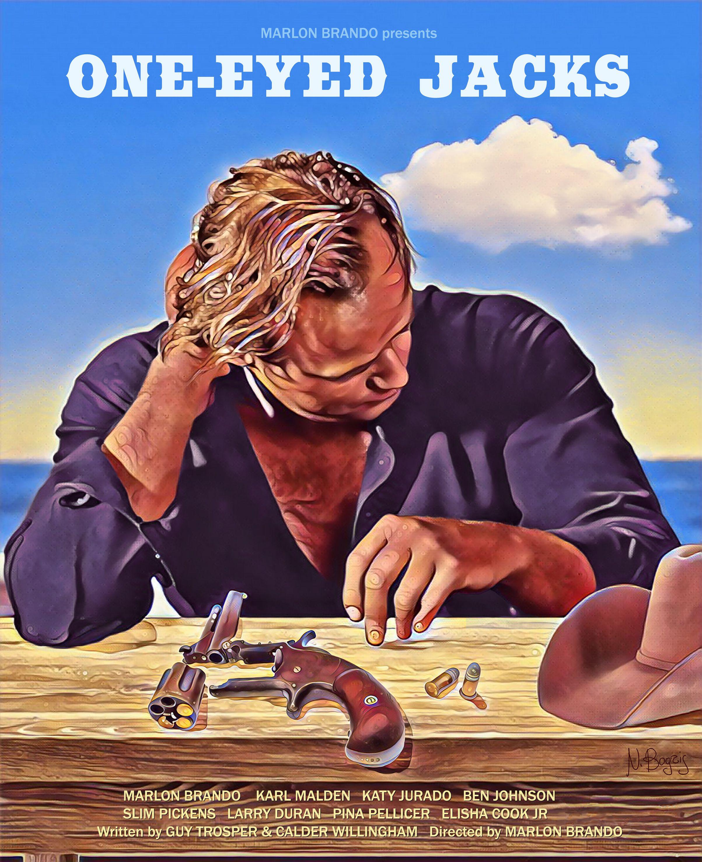 One Eyed Jacks 1961 Marlon Brando Jack Movie Marlon