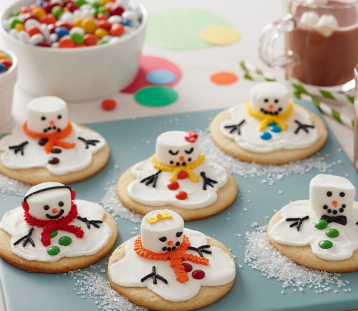 20 Ridiculously Cute Christmas Desserts Cute Christmas Desserts