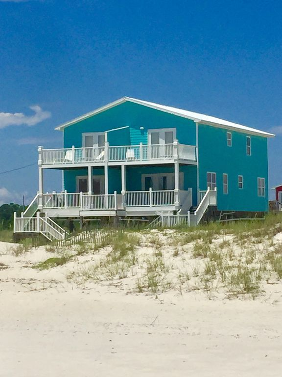 Gulf Front: 4 Decks, 2 Kitchens, 2 Living Rooms, 2 Eating
