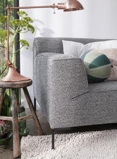 Lichtgrijze Hoekbank Op Pootjes.Woonmagazine Modular Sofa Bank Design Gebogen Bank En