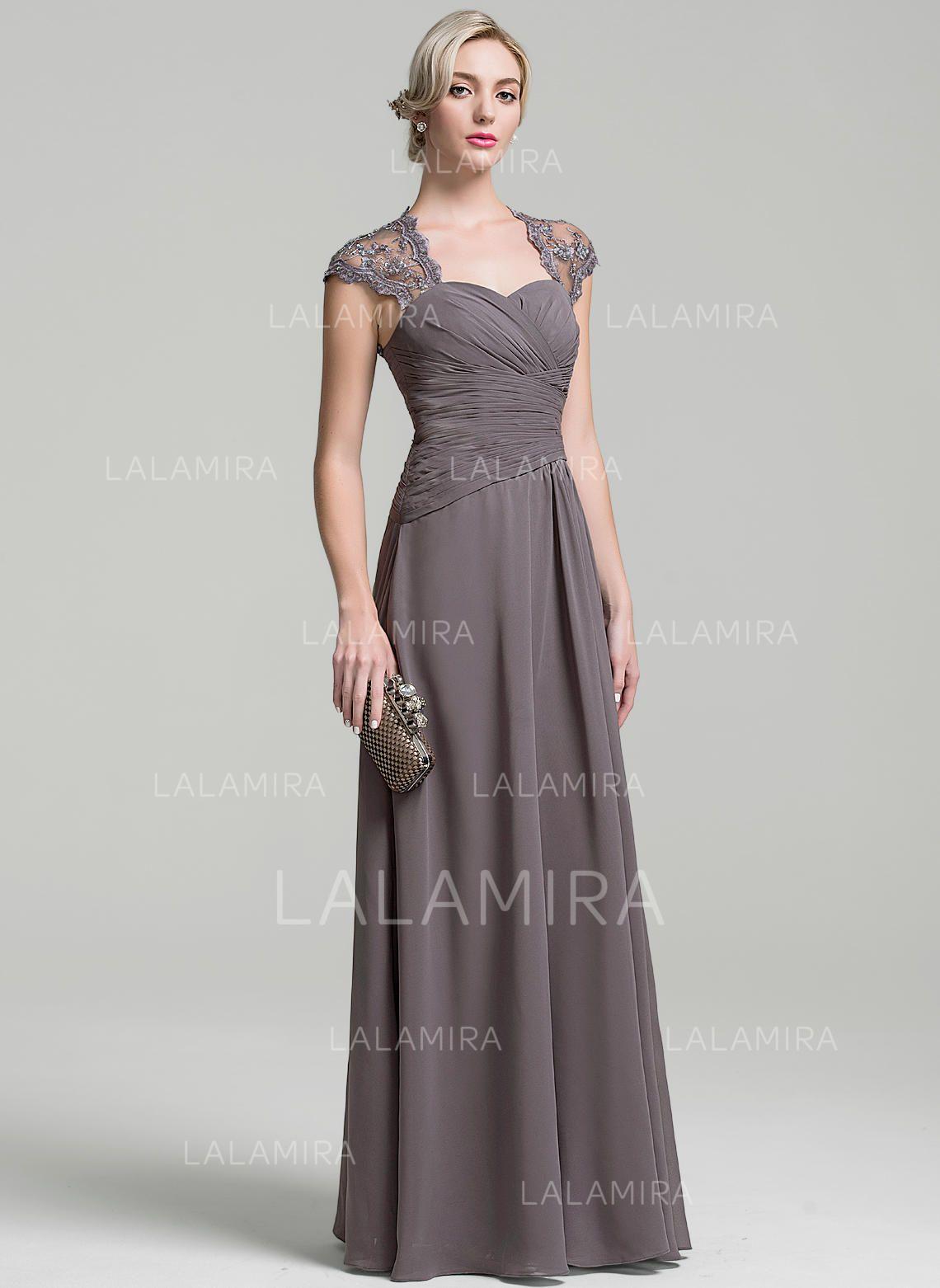 a987499a7e A-Line Princess Chiffon Sleeveless Sweetheart Floor-Length Zipper Up Mother  of the Bride Dresses  215860 - lalamira