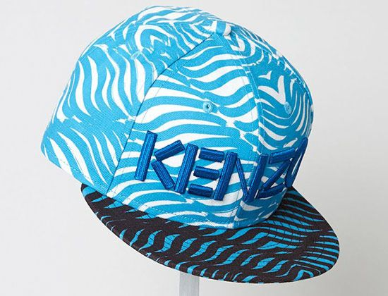 Turquoise Waves 59Fifty Fitted Cap by KENZO x NEW ERA