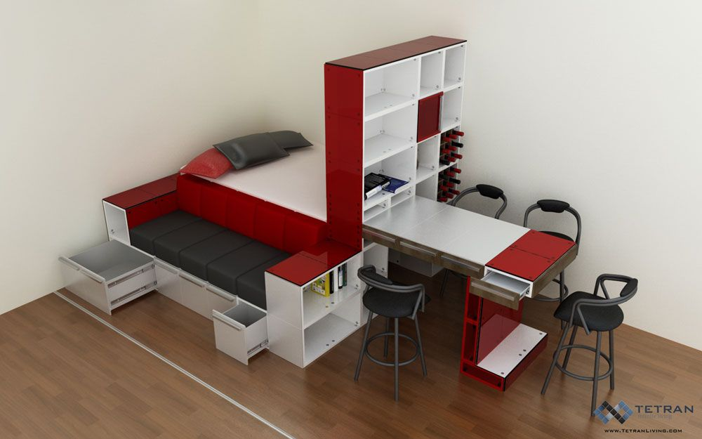 Design Your Own Furniture With TETRAN Eco Friendly Modular Cubes - Design your own furniture with tetran eco friendly modular cubes