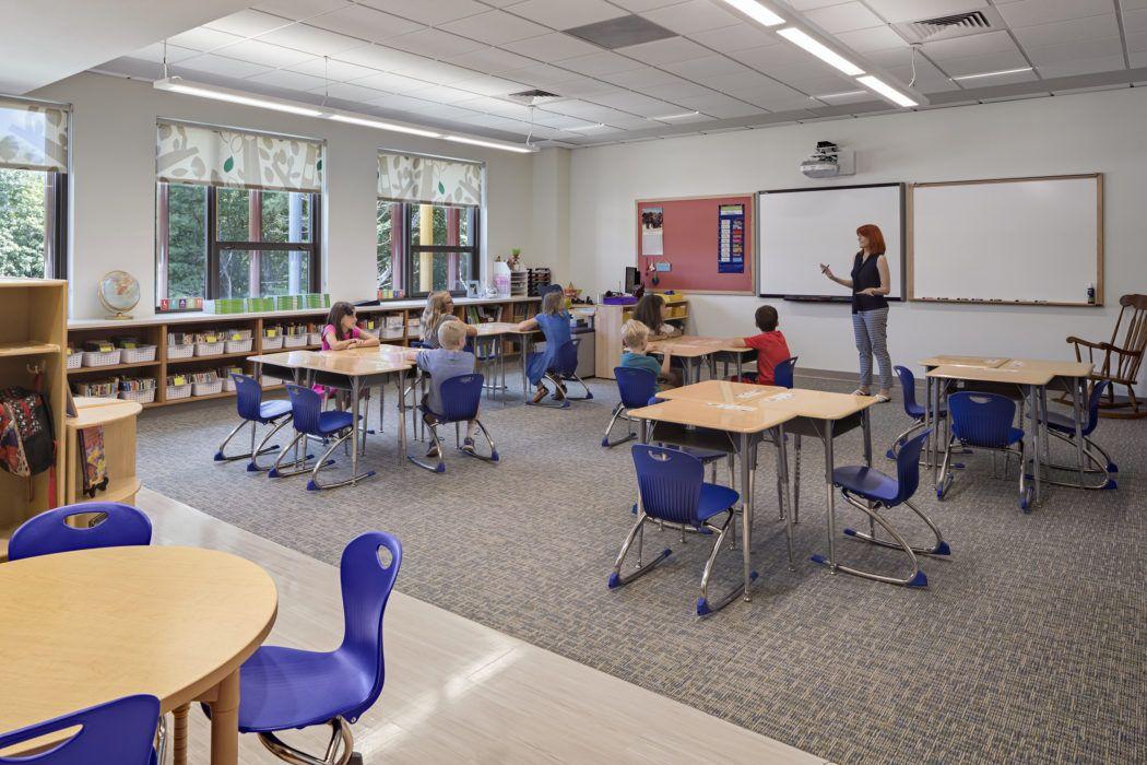 Sandy Hook School Newtown CT Svigals Partners Classroom Enchanting Interior Design Schools In Ct