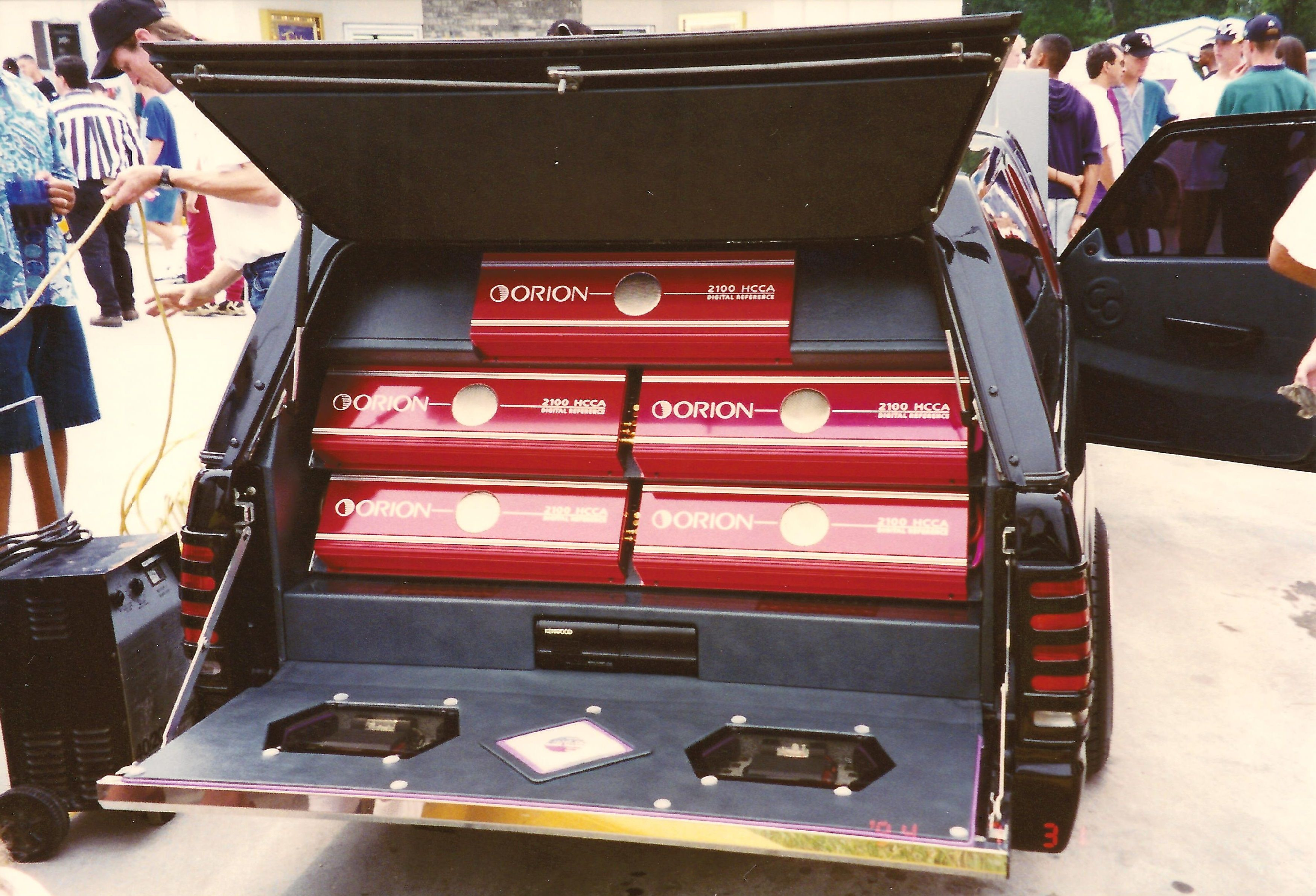 hight resolution of old school orion red sonny s car audio crank it up 1994