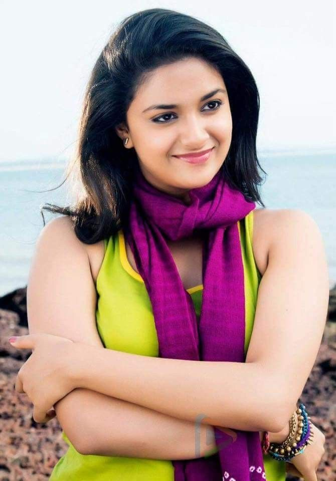 Keerthi Suresh Beautiful Indian Actress Most Beautiful Indian Actress Girl Fashion Style
